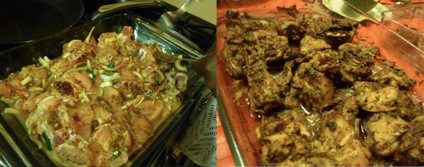 La préparation avant et après la cuisson